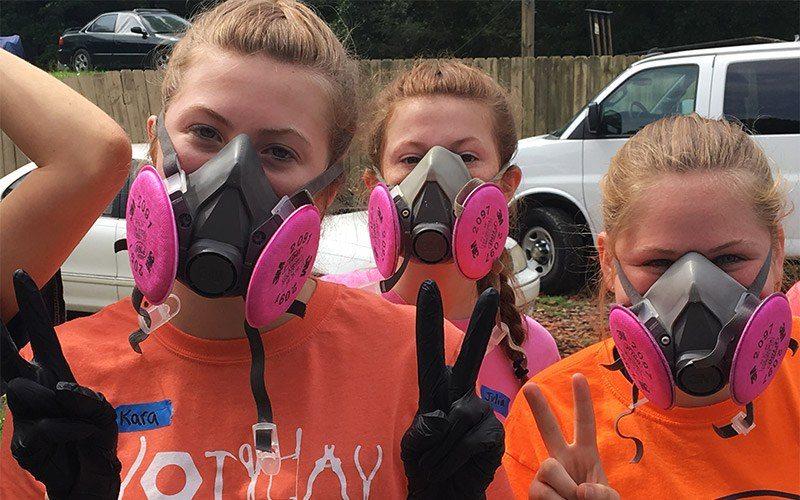 Giving Back In The Big Easy 10 Masks