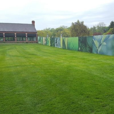 Golf Course Mesh Fence Wrap