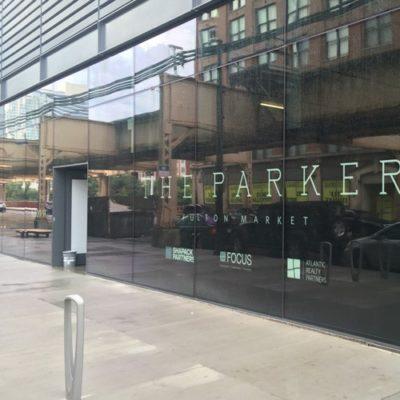 Parker Window Signage