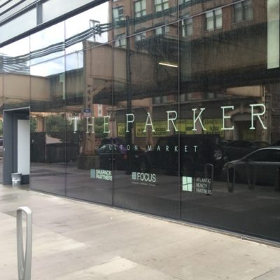 Window Lettering for Parker