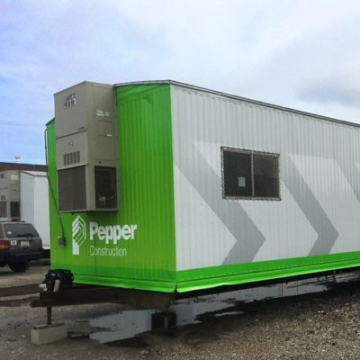 Pepper Construction Trailer Graphics