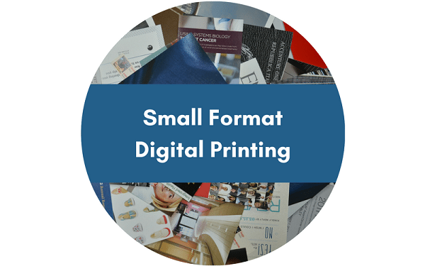 Small Format and Short Run Printing Services Button