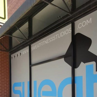 Window Graphics Displays at Sweat