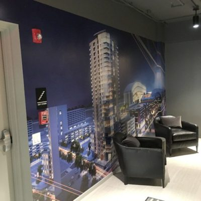 Wall Graphics Cityscape