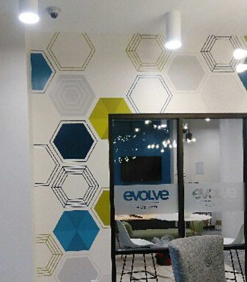 Campus Wall and Window Graphics