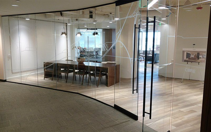 ... CBRE Office Window Graphics · CBRE Cutout Frosted Window Graphics ...