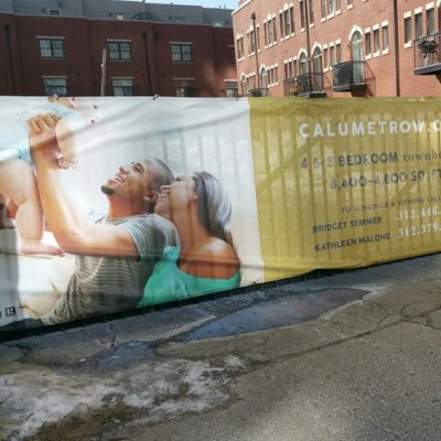 Calumet Fence Wrap Graphics