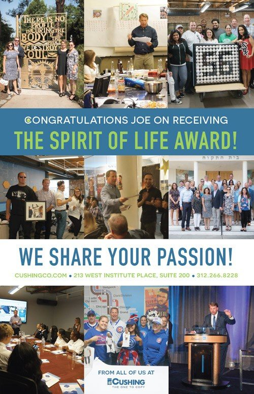 From The Flatbed Fall Edition 4 City of Hope Joe Receives Spirit of Life Award