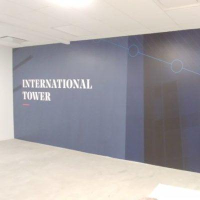 Golub International Tower Graphic