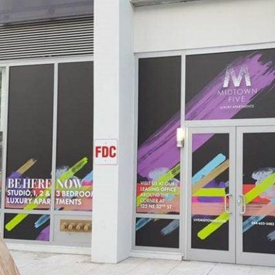 Midtown Five Miami Window Graphics