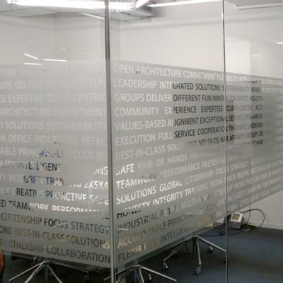 Privacy Film for Office Windows