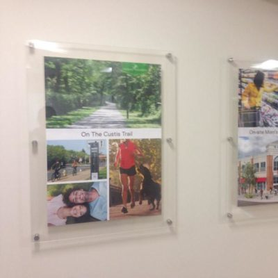 Verde Point Acrylic Displays