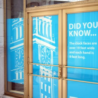 Wrigley Building Window For Lease Graphics