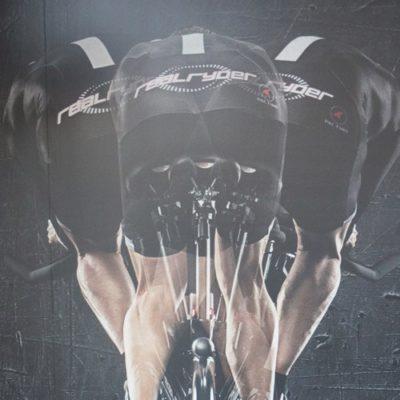 Wall Graphics at Indoor Cycling Studio