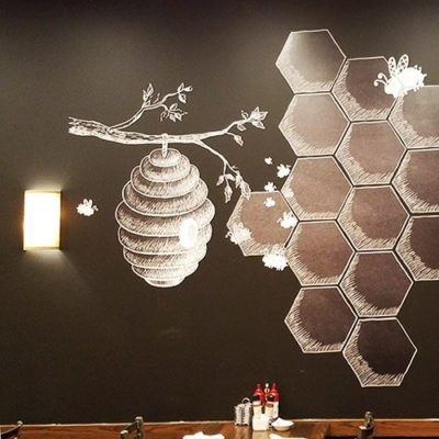 HoneyJam Cafe Wall Graphics