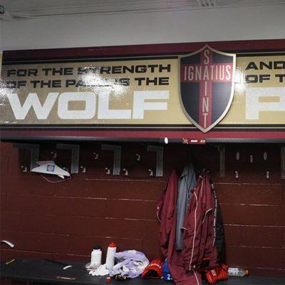 Wolf Pack Locker Room Graphics
