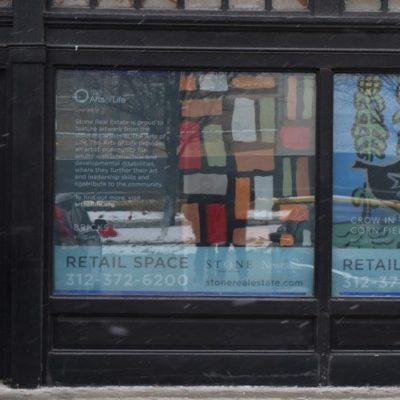 Stone Real Estate Storefront Window Graphics