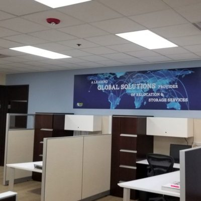 Interior Banner Installed In 3MD Office