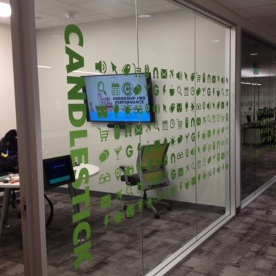 Privacy Film in Office