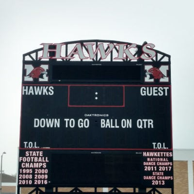 Maine South Scoreboard Graphics