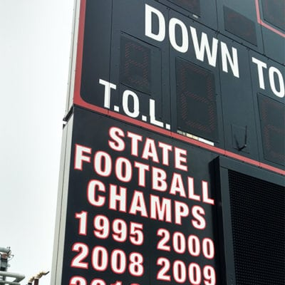 Maine South Scoreboard Graphics State Champs