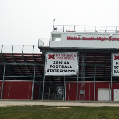 Maine South Stadium Banners
