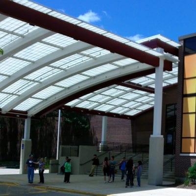 Maine West High School Window Graphics