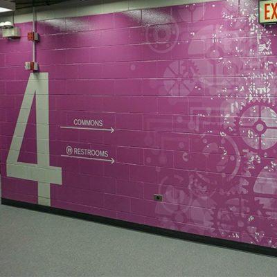 UIC Wall Graphics