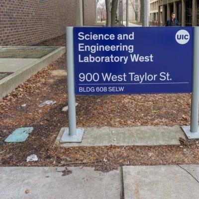 Exterior Signage at UIC