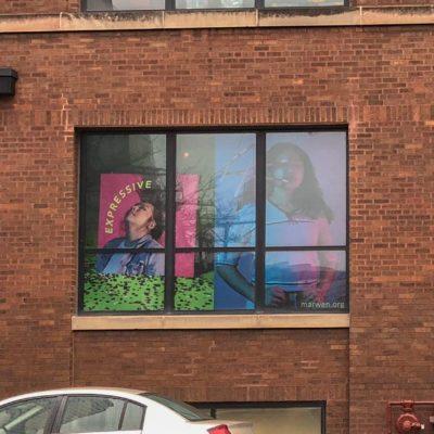 New Window Wraps Installed at Marwen
