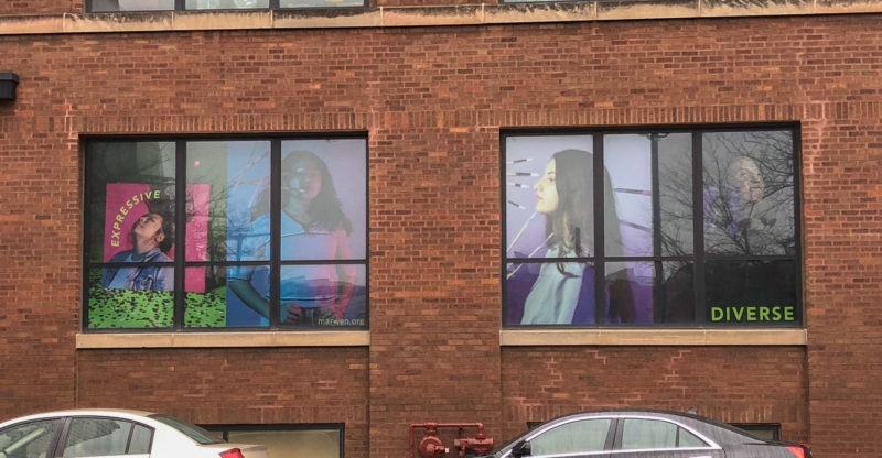 New Window Wraps Installed at Marwen