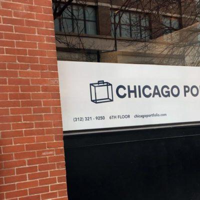 Chicago Portfolio School Window Graphics