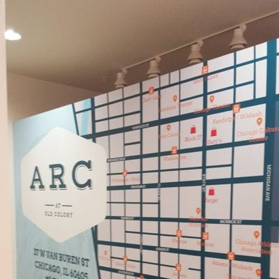 ARC at Old Colony Wall Graphics