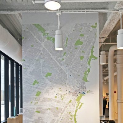 BKL Map Wall Graphic