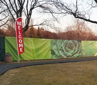Cantigny Fence Wrap Wide Graphic