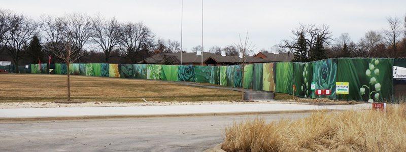 Construction Job Site Signs Fence Wraps Chicago Il