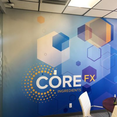 CoreFX Wall Graphics In Office