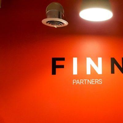 Wall Graphics at Finn Partners Detroit Office