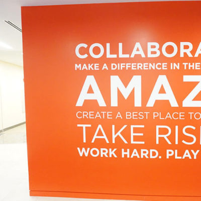 Finn Partners Uses Wall Graphics to Promote Collaboration