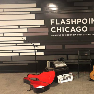 Wall Graphics With Instruments at Flashpoint Chicago