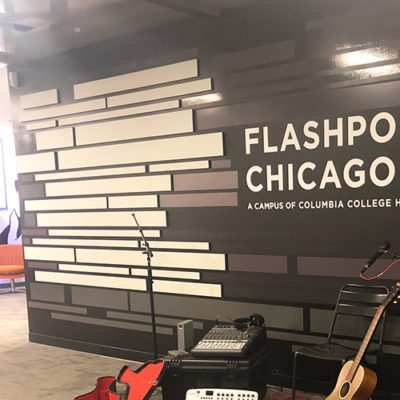 Wall Graphics at Flashpoint Chicago