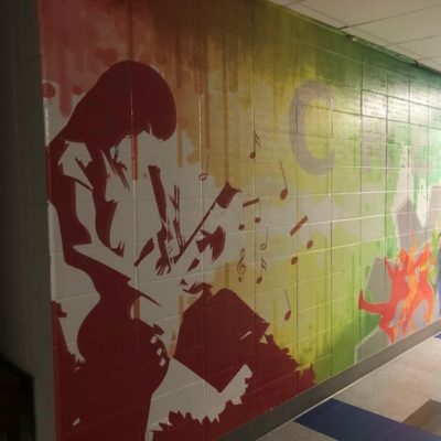 Wall Graphics at Jack Hill Middle School