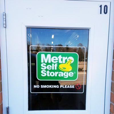 Metro Storage Door Graphic