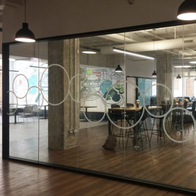 Decorative Glass Graphics at Relish