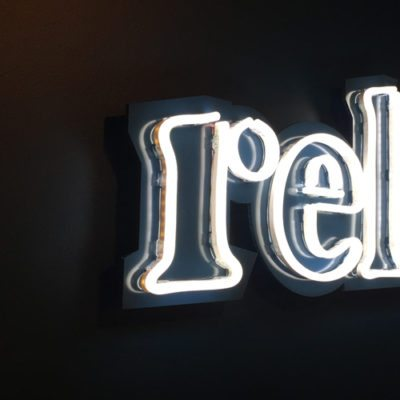 LED Signage at Relish