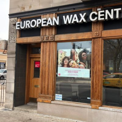 Window Graphics at European Wax Center