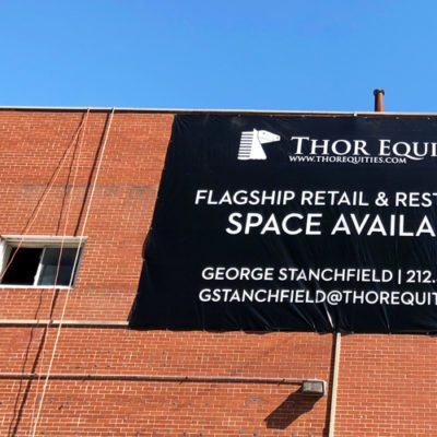 Exterior Banner for Thor Equities