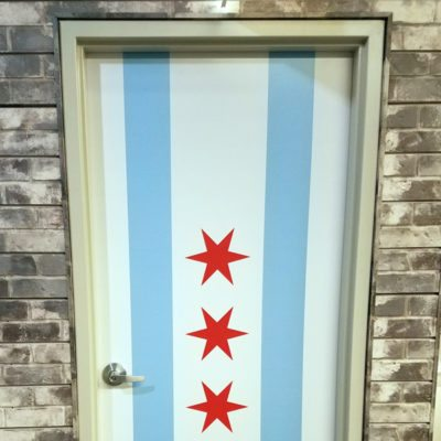Door Decal at Oh Yes Chicago