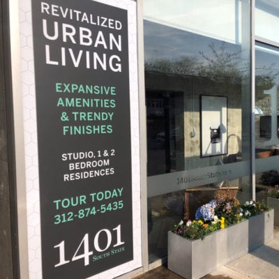 Real Estate Window Graphics for Greystar