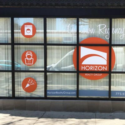 Window Graphics at Horizon Realty